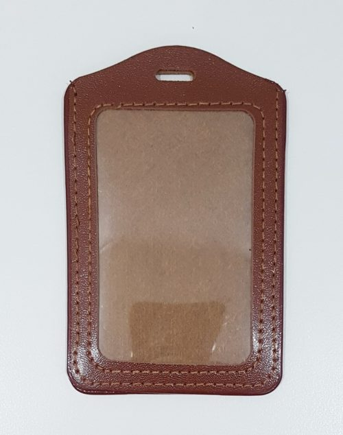 PU Card Holder-Brown