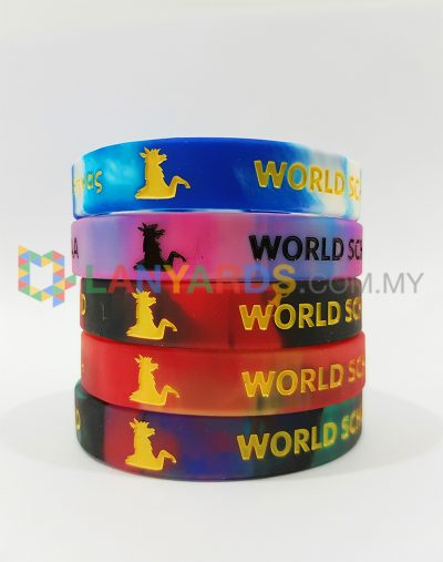 Swirl Color Wristbands