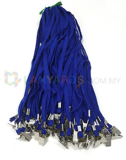 Cheap Blue Lanyard