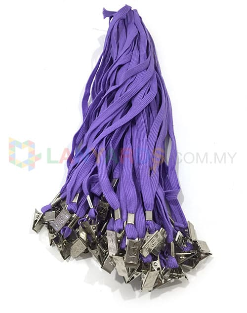 Cheap Purple Lanyard