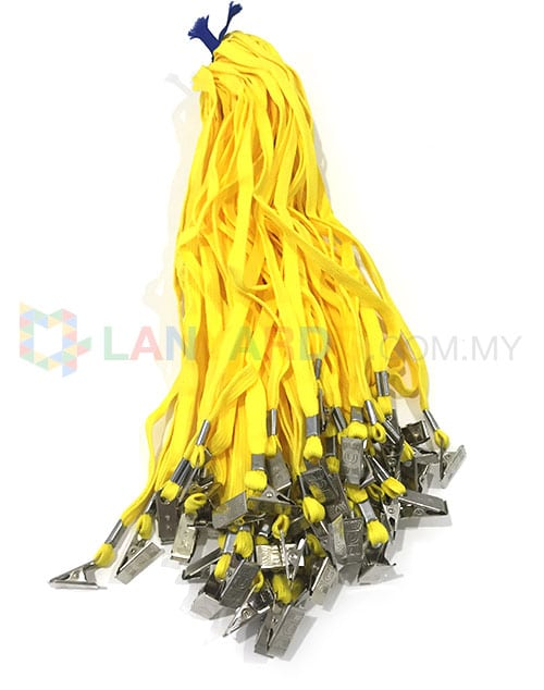 Cheap Yellow Lanyard